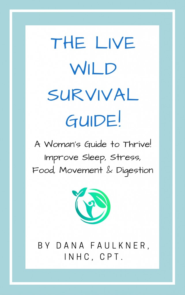 Live Wild Survival Guide Book Cover